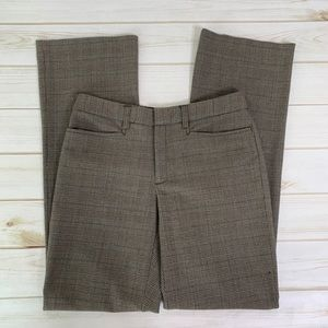 Checkered brown trouser pant by GAP